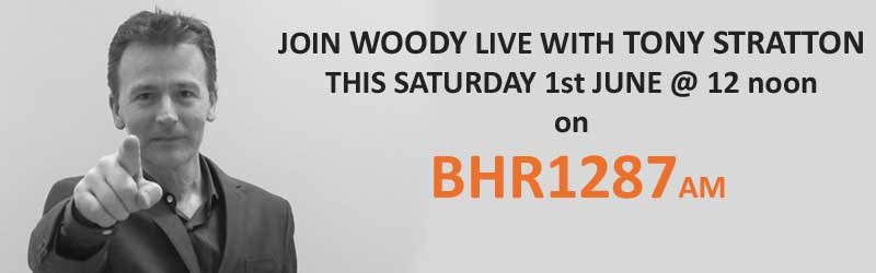 Woody Live on BHR1287AM